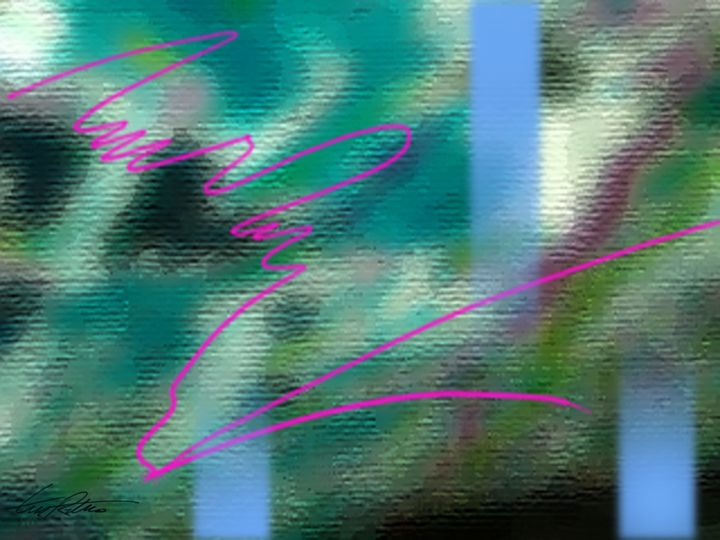 Carwash Abstract - Terry Restivo