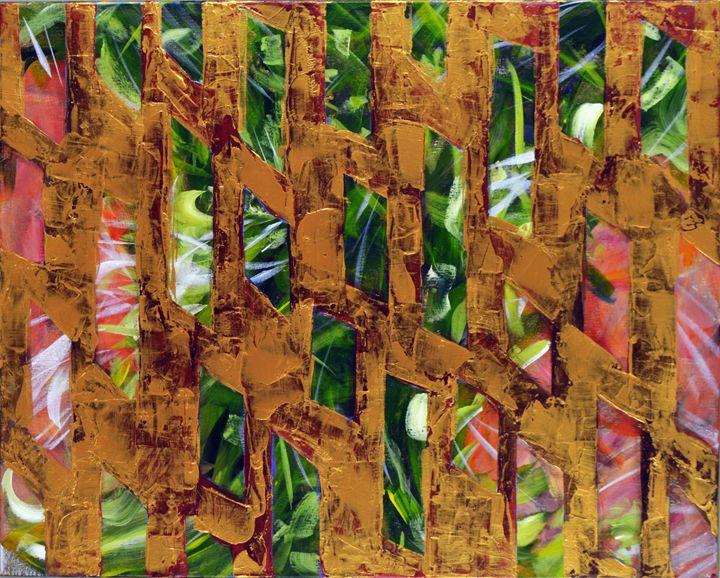 Gold in the Garden - Carolee