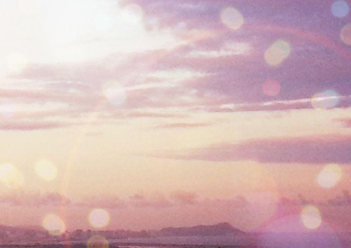 Sun Flare - Mike Crinella - Hawaii Artist