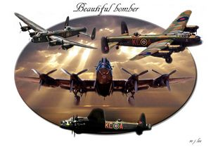 beautiful bomber