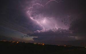 Lightning over the Plains