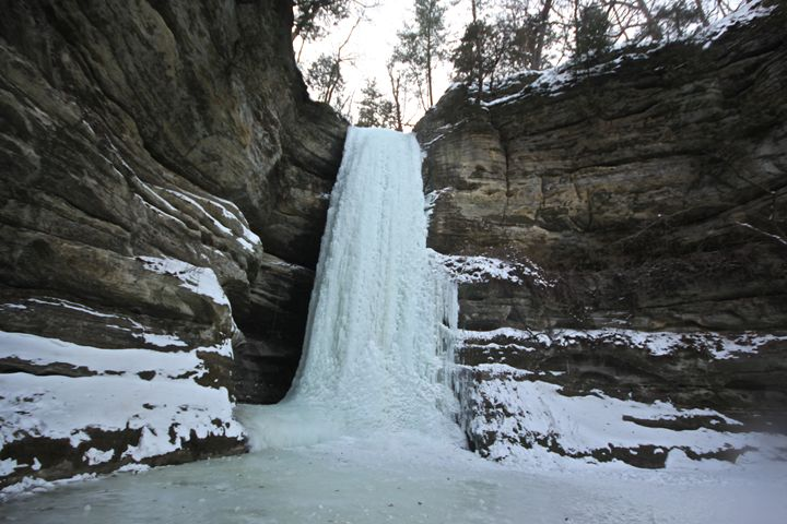 Iced Waterfall - Pure Images by Bre