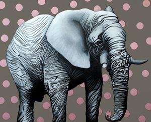 White Elephant Painting