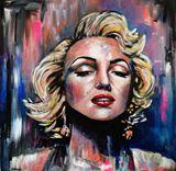 Original Marilyn Monroe Acrylic
