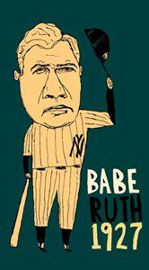 Babe Ruth New York Yankees
