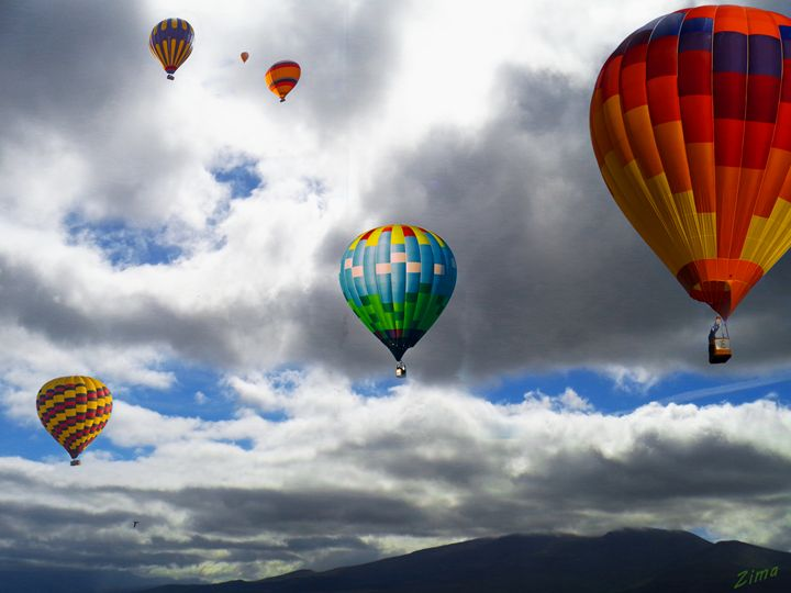Balloons over Ireland - Zima