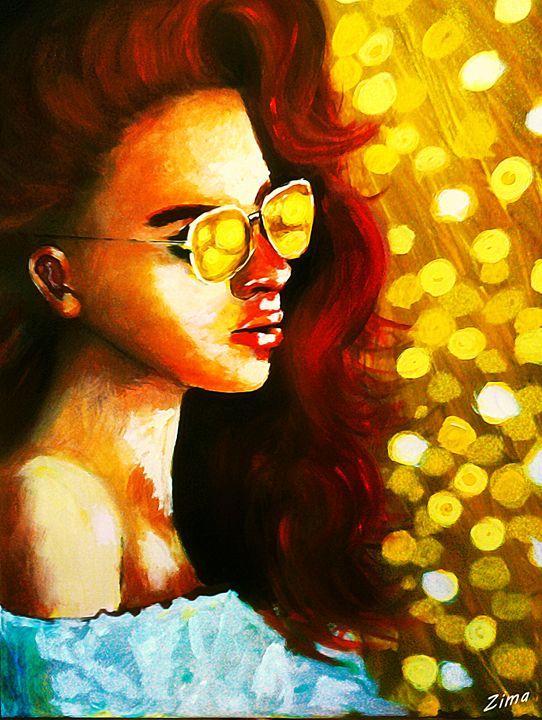 Golden girl - Zima