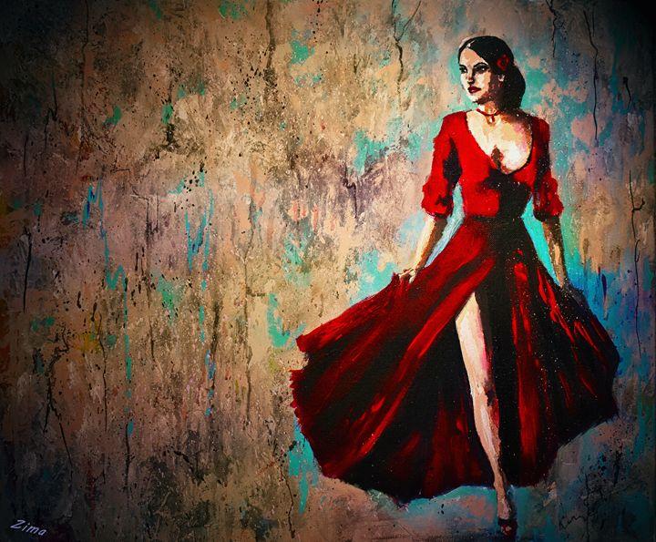 The Red Dress - Zima
