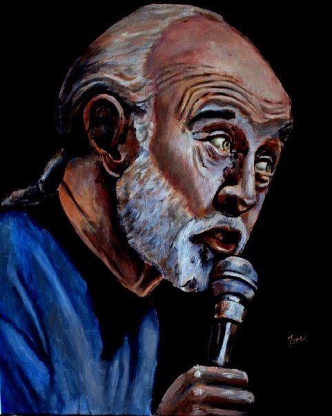 George Carlin (sold) - Zima
