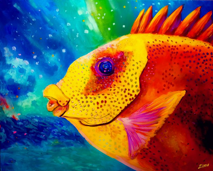 A Fishes Life - Zima