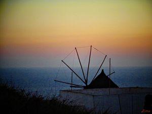 View in Santorini - Zima