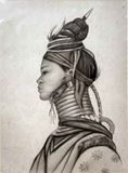 Portrait of upcountry woman