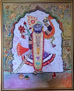 Shreenathji ( Rainbow colors)