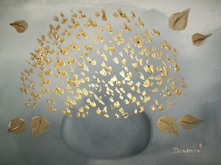Floral and Vase - Raymond Doward