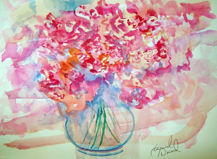 Watercolor Bouquet - Raymond Doward