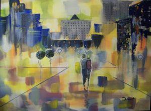Abstract Love Walk