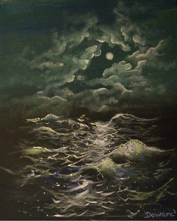 MOONLIGHT SEA - Raymond Doward