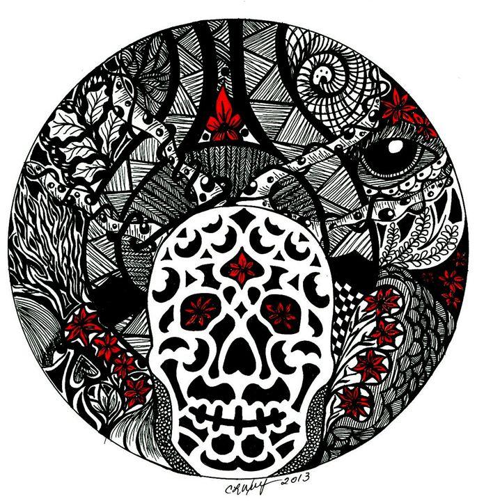 Dia De Los Muertos - Earthworks Art Designs and Photography