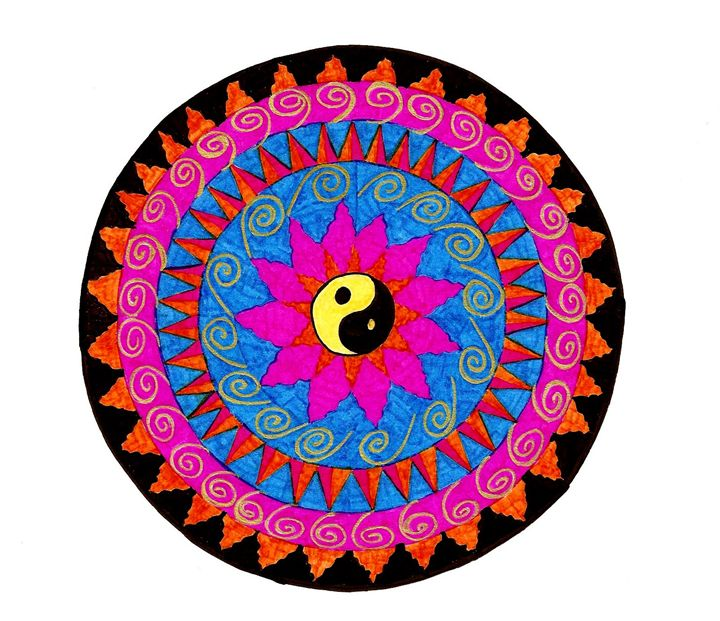 Harmony Mandala - Earthworks Art Designs and Photography