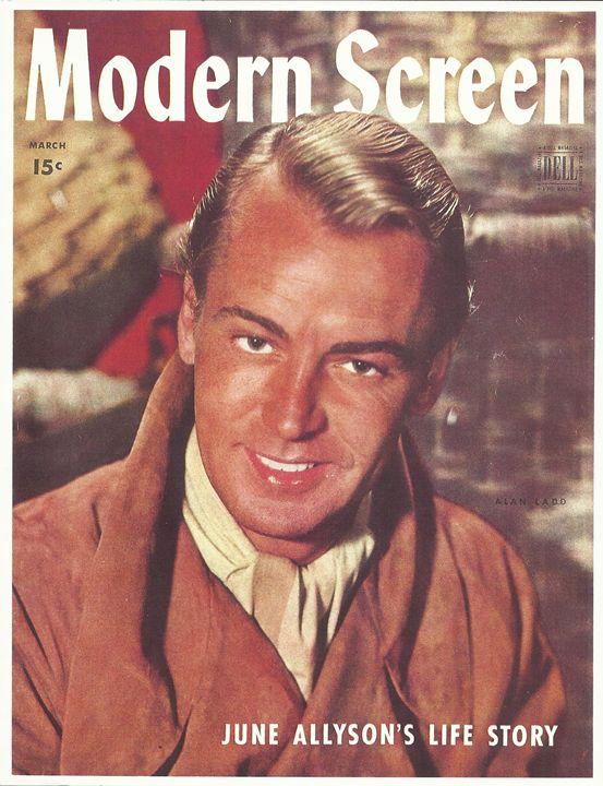 Alan Ladd Cover Print/Poster 16 x 20 - Disabled Veterans Store