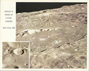 Apollo 10 Views Of Lunar Farside