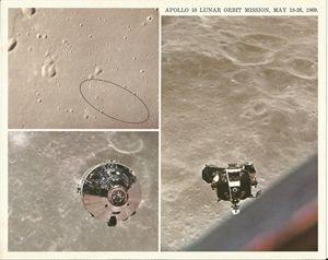 Apollo 10 Lunar Orbit Mission