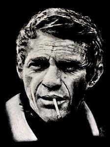 McQueen smoking