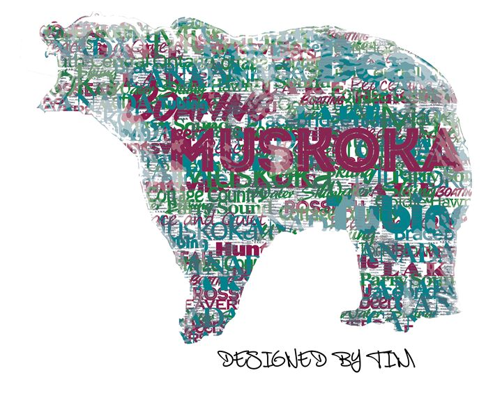 Muskoka Bear - Designed By Tim