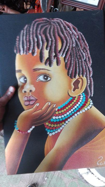 African teenager - KARIS ARTS AND CRAFT