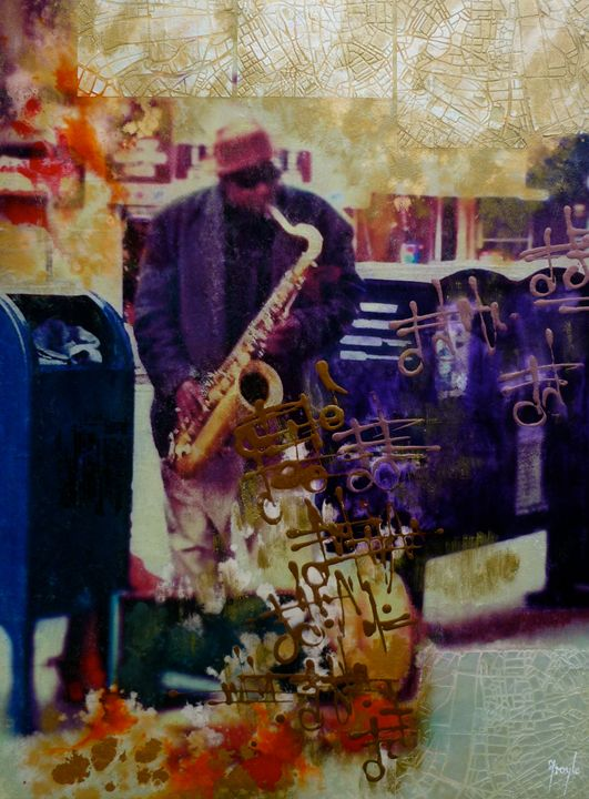 The Jazz Man - FroyleArt