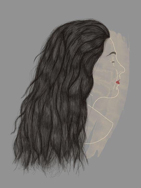 Self Portrait - Contemporary illustrated portraits