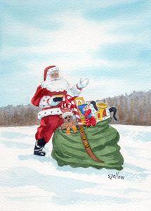 Santa and his Pack