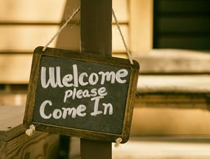 welcome come in