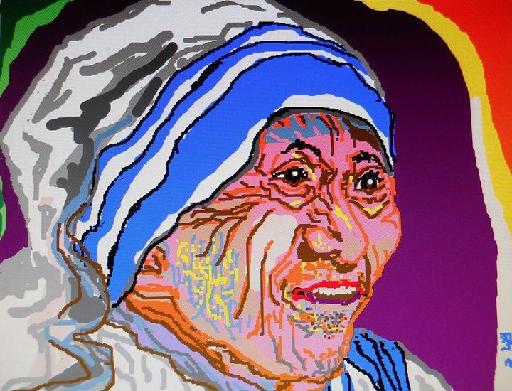 Mother - partha pratim ghosh  partha's