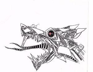 Mechanical Wolf - DJHamster