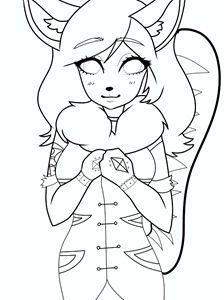 Anime wolf girl