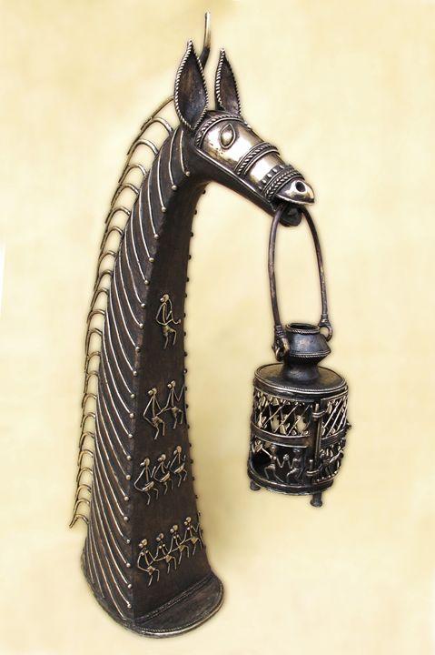 Horse Power - Indian Art