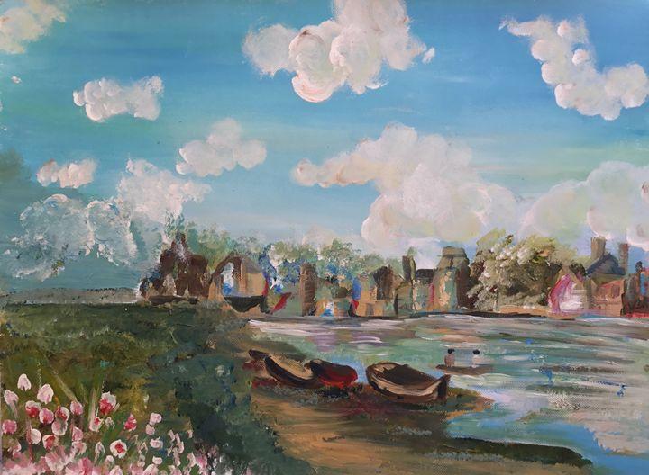 Travel Nostalia - Shameela's Art