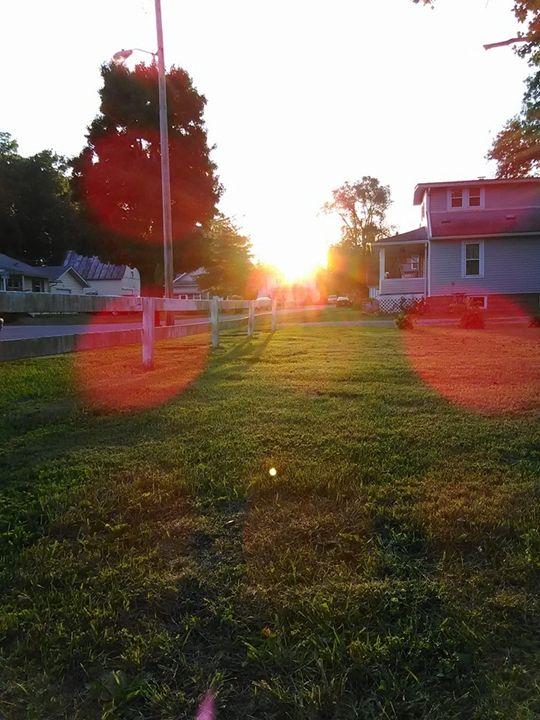 late summer sunset - liliann
