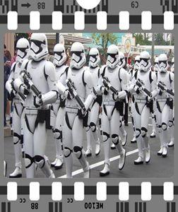 Stormtrooper marching Star Wars