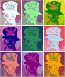 Marley wearing British Hat Effect