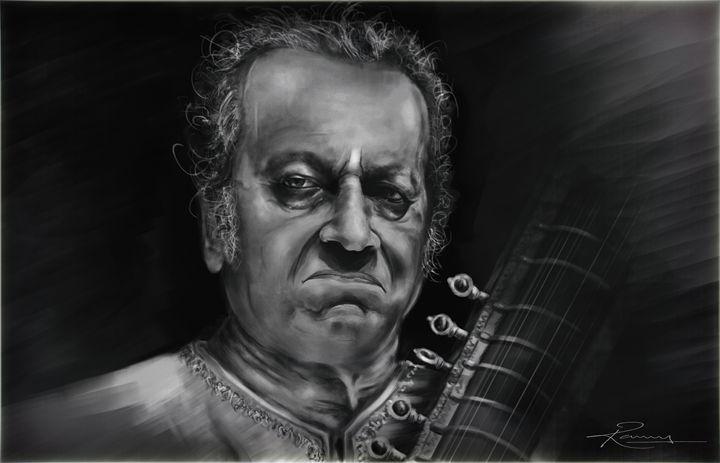 Pt.Ravi Shankar ji - Ramu kondaparthy