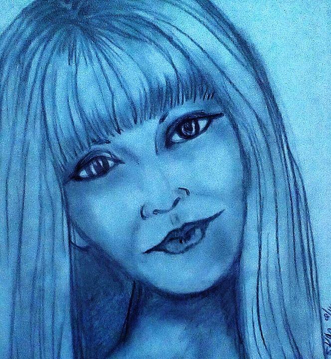 DAYDREAM BELIEVER - Autumn Lady Sketches