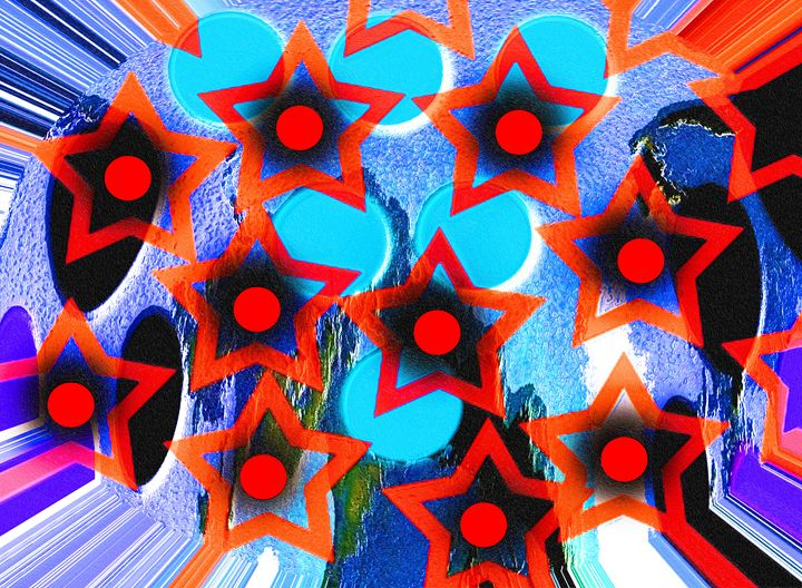 Red stars - Helen A. Lisher