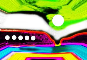 Alien landscape - Helen A. Lisher