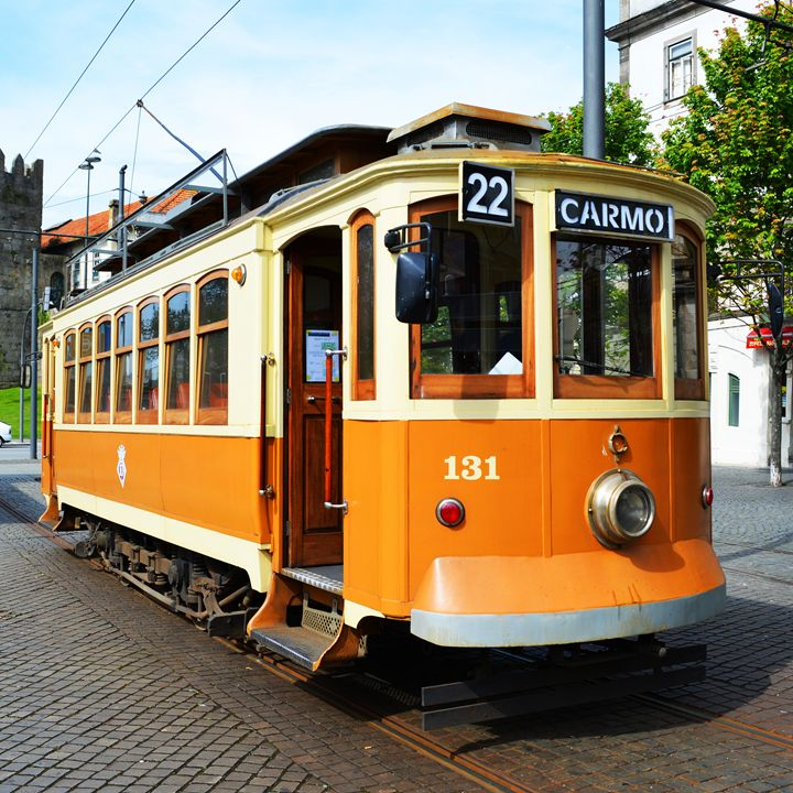 Old tram in Portugal - Helen A. Lisher