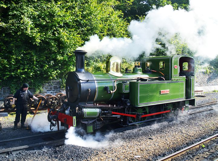 Steam engine in the Isle of Man - Helen A. Lisher
