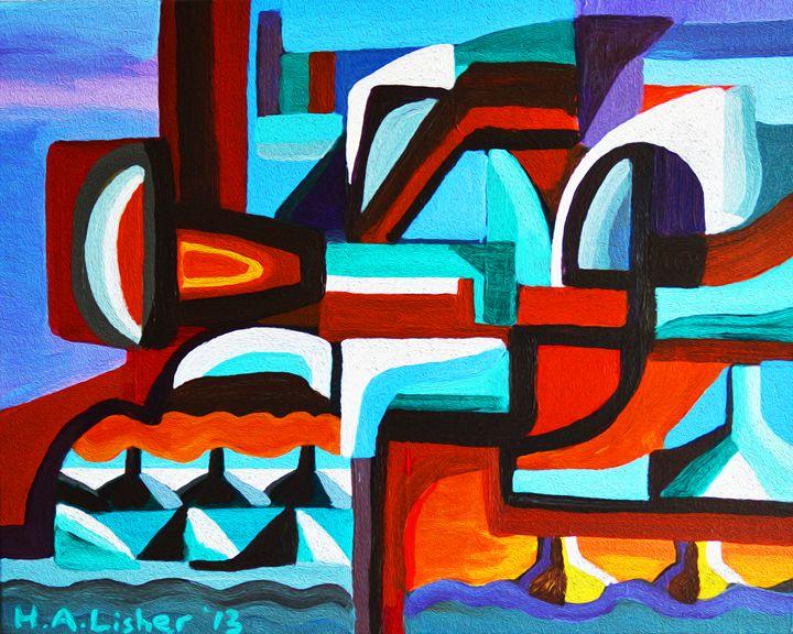 Ocean city - Helen A. Lisher