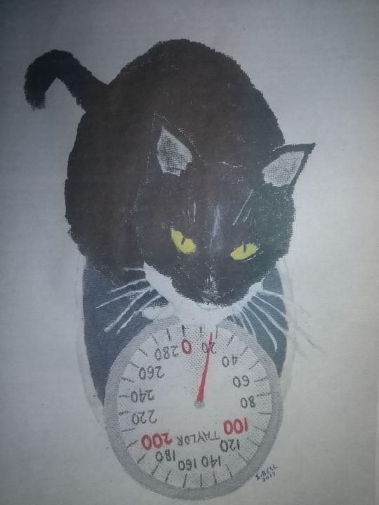 Fat cat - ART