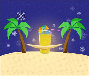 tropical winter